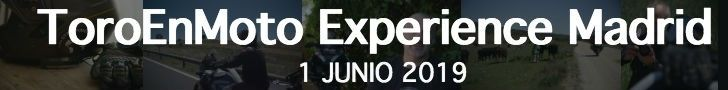 Inscribete en la ToroEnMoto Experience Madrid